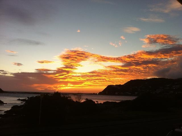 Island Bay Sunset