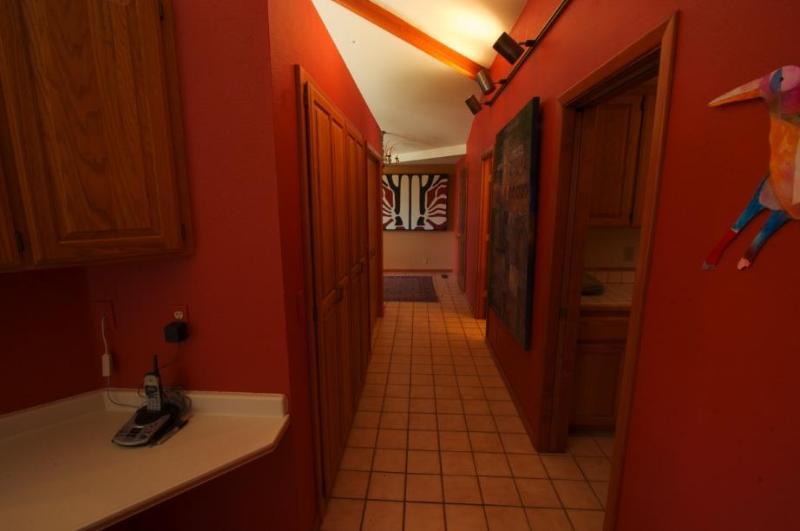from garage entry - hallway toward front door