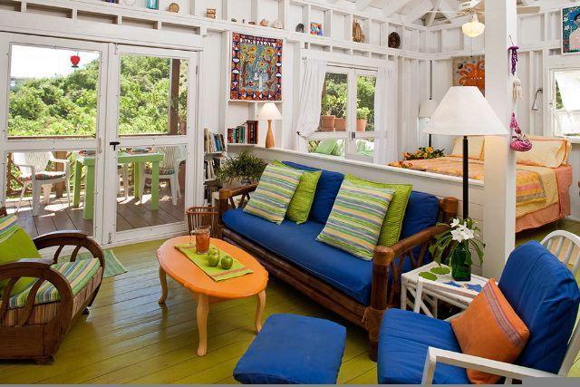 Interior limpio, brillante y alegre