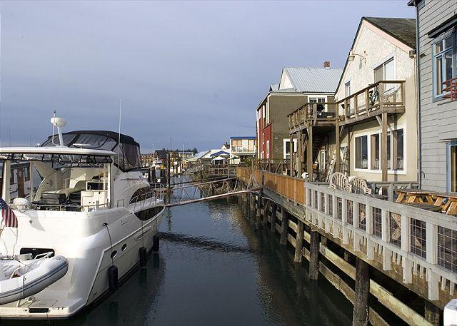 Take a leisurely waterfront walk in downtown La Conner