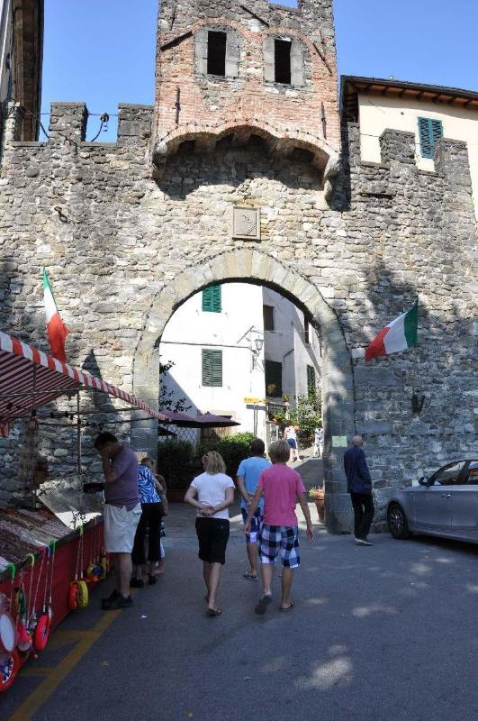 main Gate to historic Barga (Porta Reale)