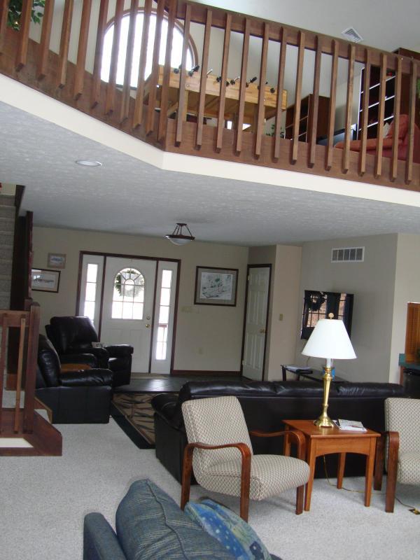 Große Zimmer, Loft oben