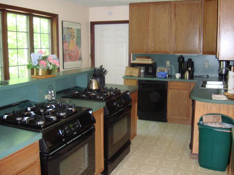 Doppelte Öfen/Backöfen/Mikrowelle und geräumigen begehbaren Speisekammer für beste mitgelieferten House in die Poconos