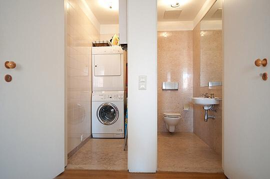 Blanchisserie et deuxième petite salle de bains