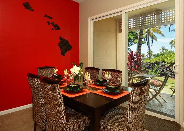 Lava Flow Dining Room