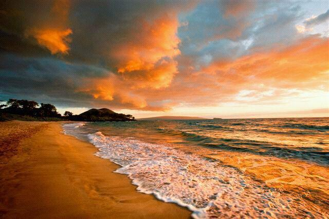 Incredible beaches with sunsets in this area