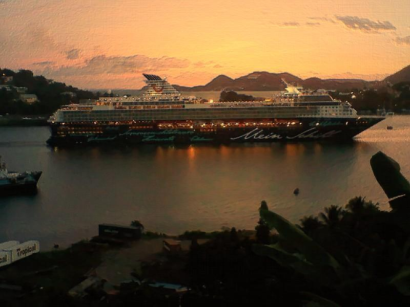 LA MARGUERITE - cruise ships at dawn