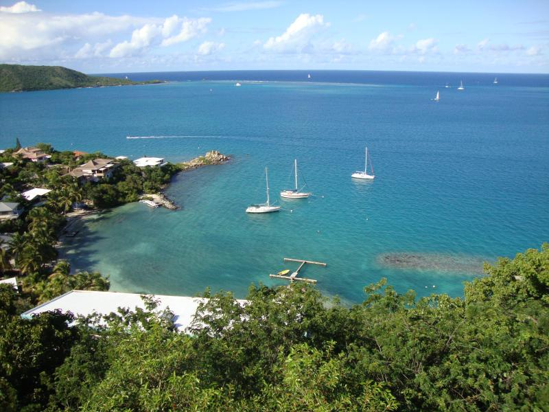 Enjoy Sea & Island views (Leverick Bay, Moskito Island and Anegada in the distance)