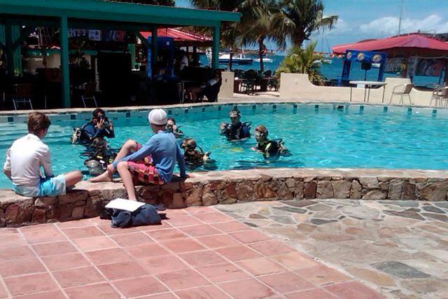 Take a beginner's Diving lesson w/Dive BVI