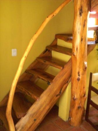 Staircase to the bedroom