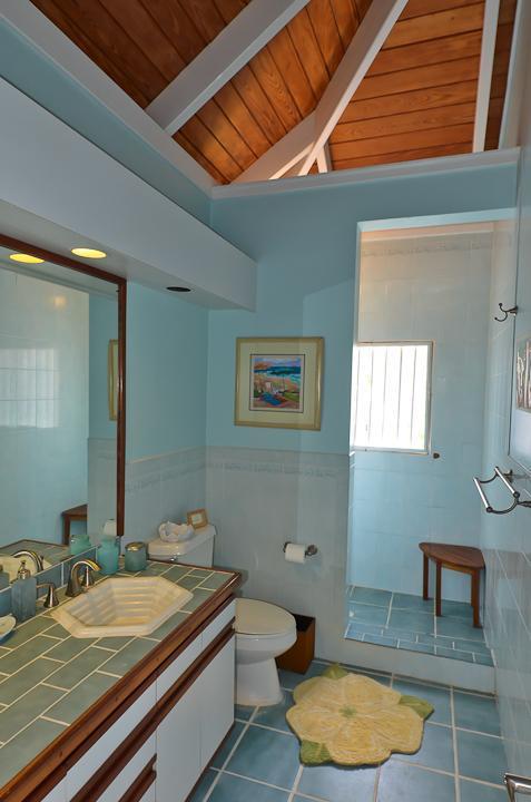 Sand Dollar Suite bain complète avec vue sur l'océan