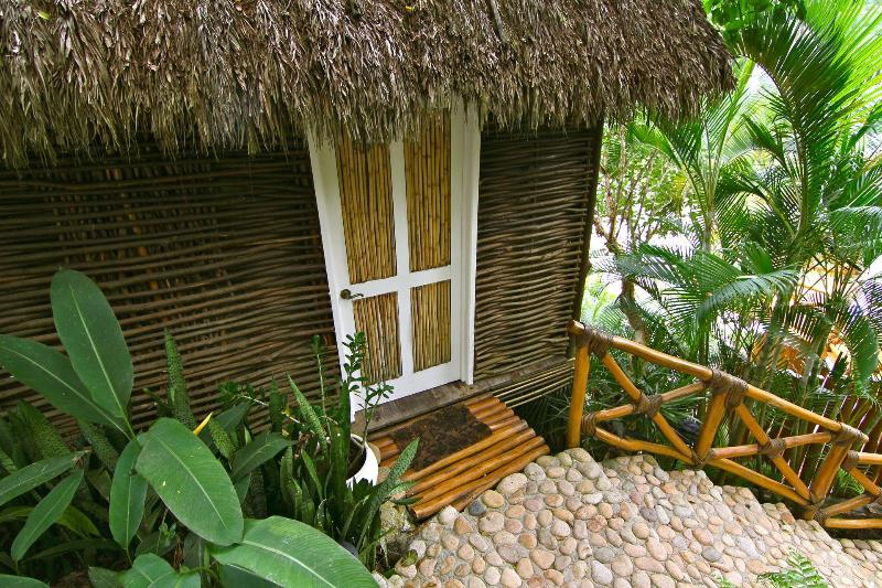 The entrance to lovely Casa Nido…the love nest.