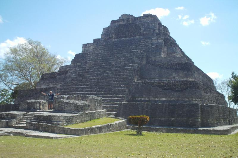 Several impressive Mayan ruins to be visited a short distance away.