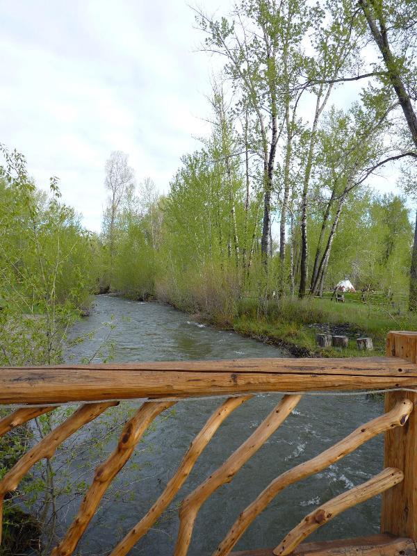 west creek view from bridge