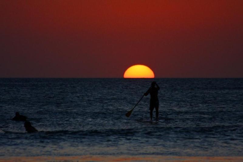 Hermosas puestas de sol siempre hacen al final de cada día un momento especial.