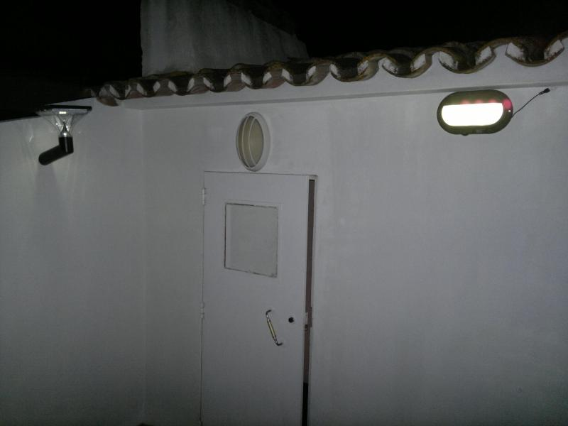 Terrace - Solar powered lights