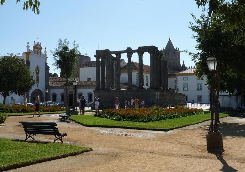 Roman Diana Temple view