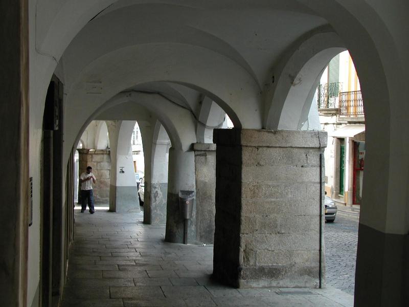 Arcadas da praça