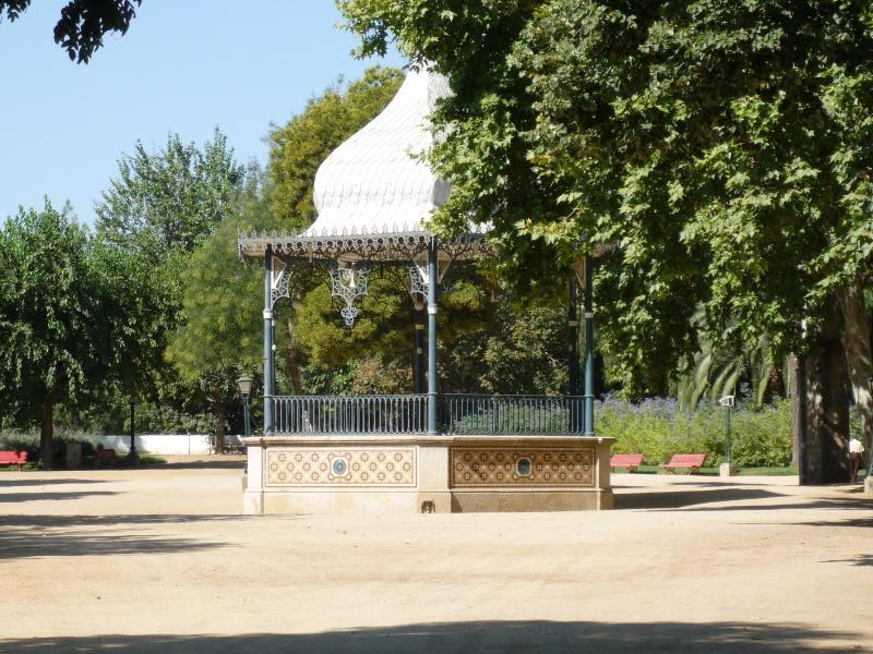 Bandstand in the garden