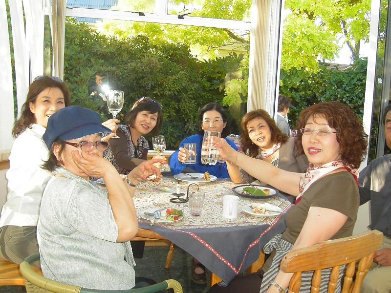 Party time for my Japanese guests