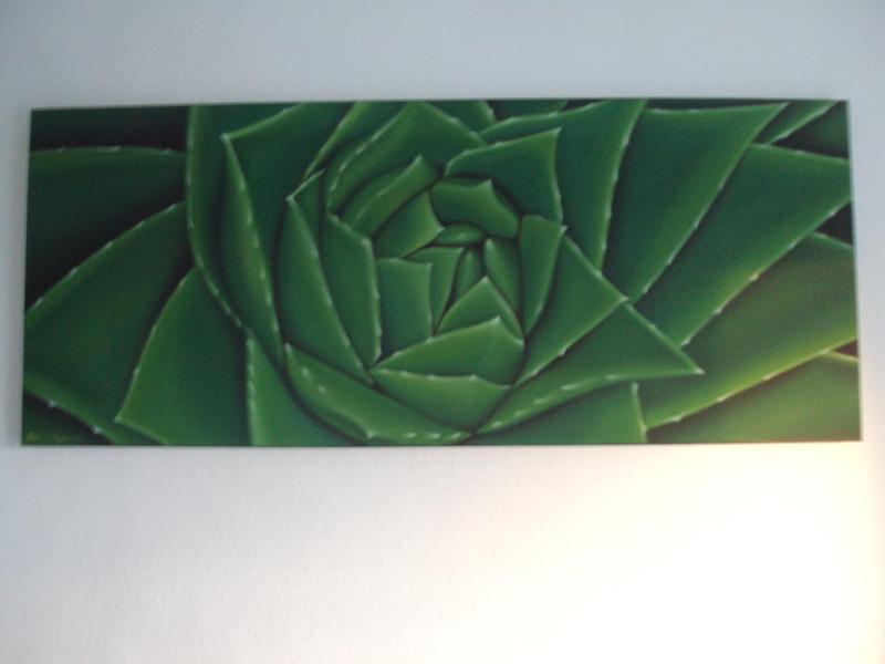 Une œuvre d'art unique de Cactus