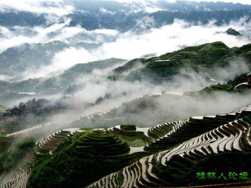 Long Sheng Terraced Paddy Fields, one of the five China Wonders 2013, 2 hours drive