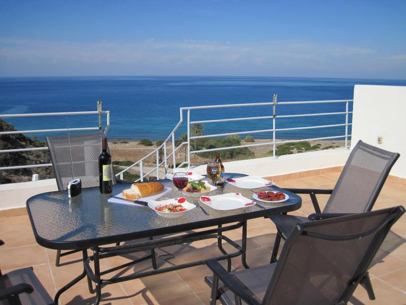Enjoy Lunch on the terrace