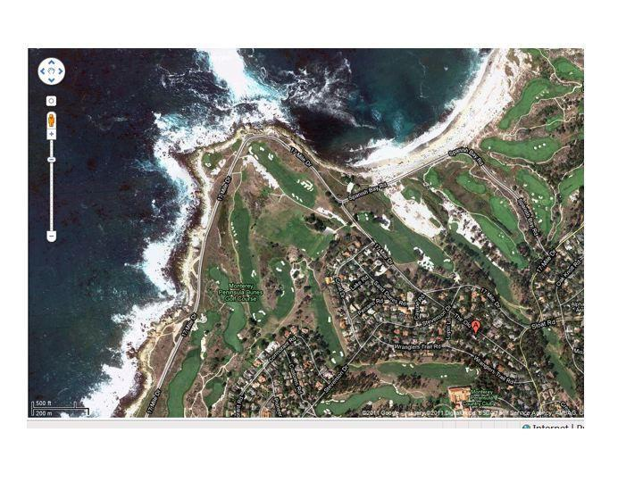 Ideal Location 1 block from Spanish Bay and a stroll away from golf