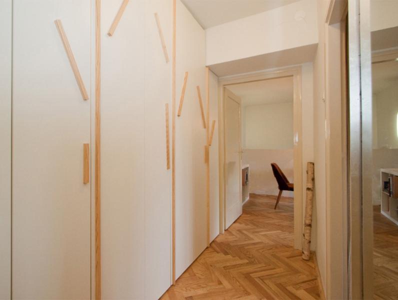 Entrance corridor - wardrobe