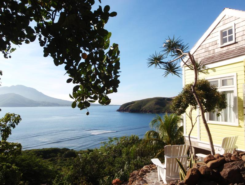View from Ocean Song Villa and gardens.