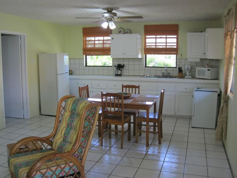 Large open floor plans and full kitchens.