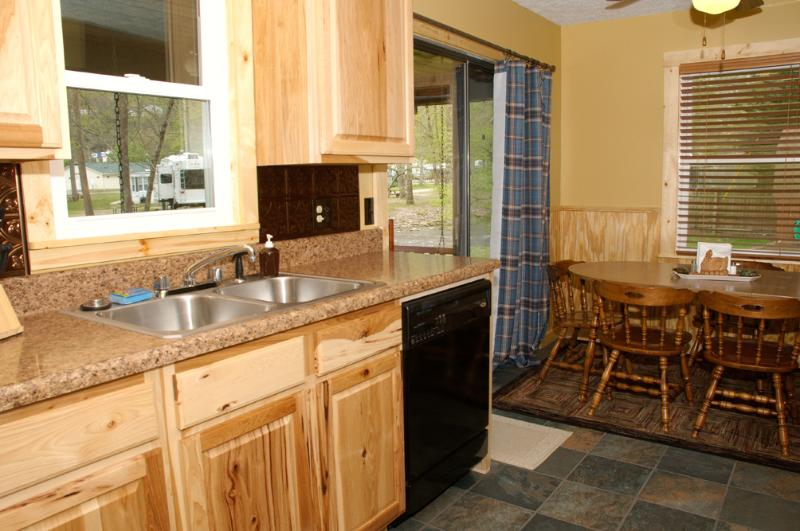 Eat In Kitchen or If Weather Permits Outside on the Patio