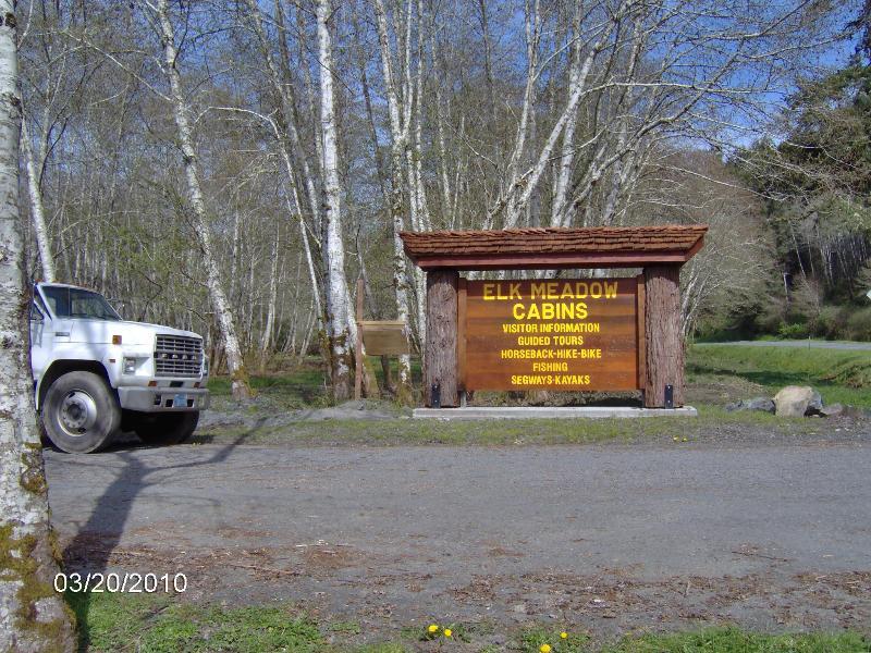 Entrée à Elk Meadow