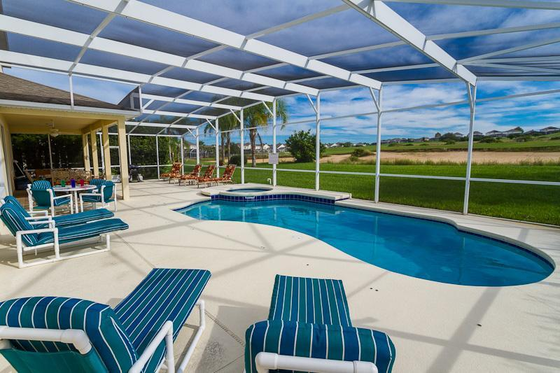 Large Private pool Length 26 ft 6' by Width 13 ft 9 '