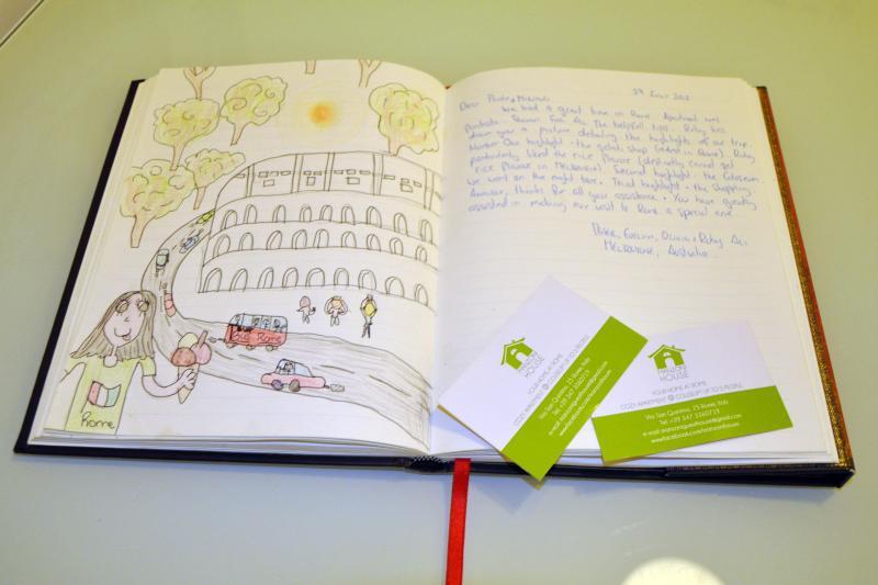 Guests' book