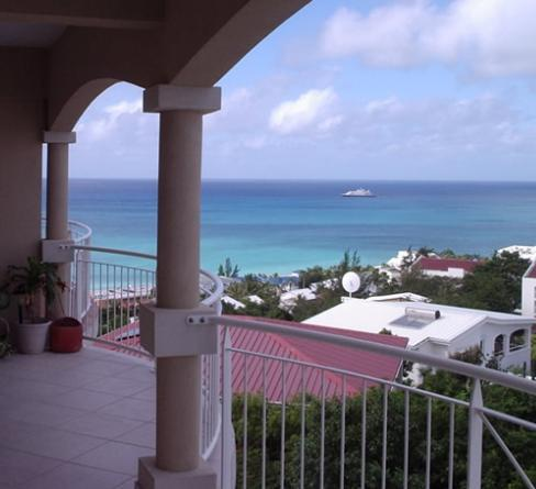 Simpson Bay from MBR Balcony