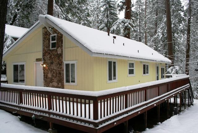 Twain Harte Vacation Rental During The Snow