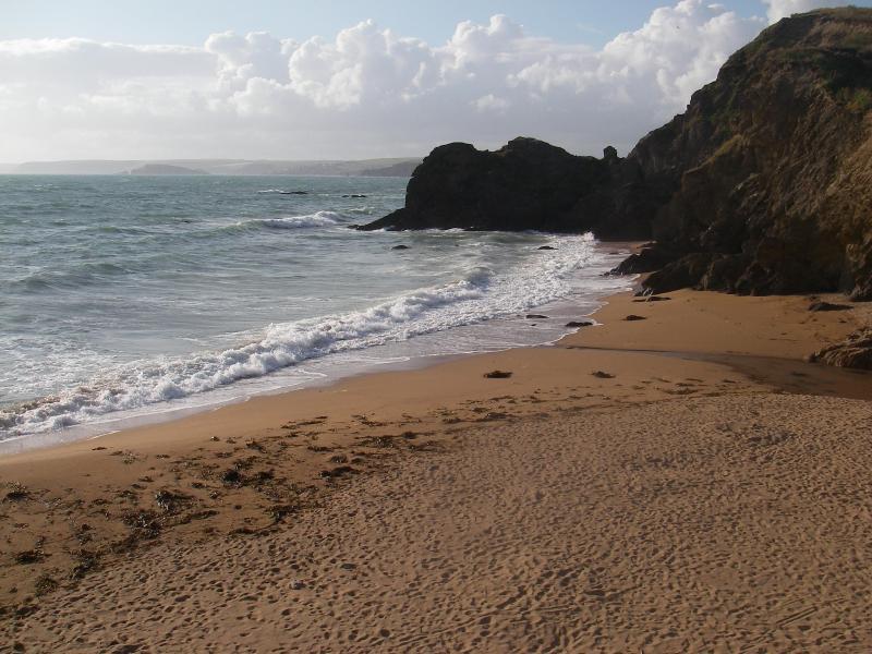 Hope Cove beach.