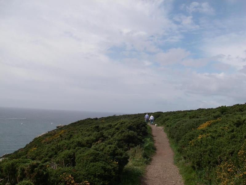 Nearby coastal walk