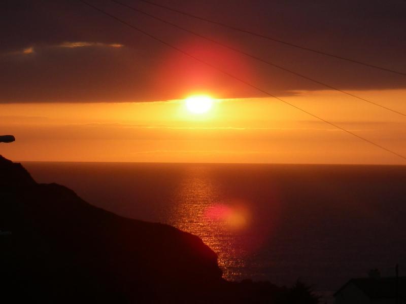 Sunset from Kanangra balcony