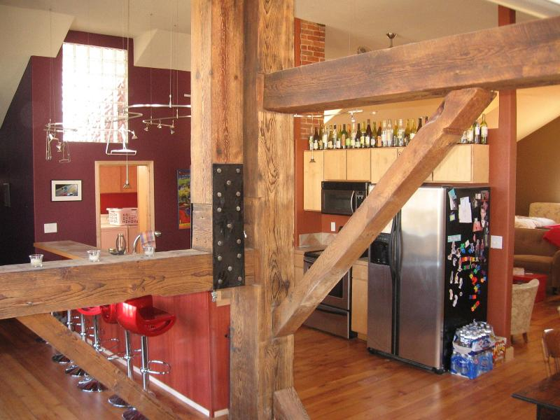The Loft in Lansing, Iowa, vacation rental in New Albin