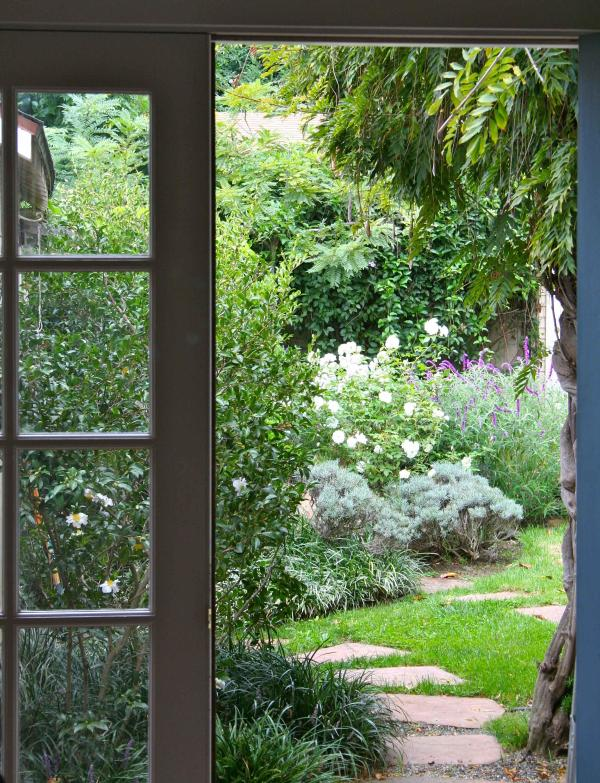 View of your Secret Garden Hideaway