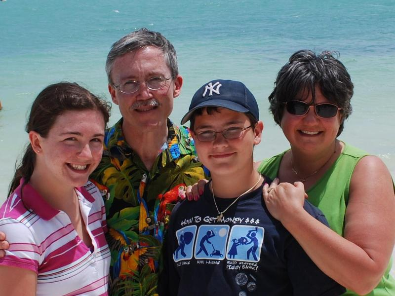 Retrato de familia en Cabana Club 2008