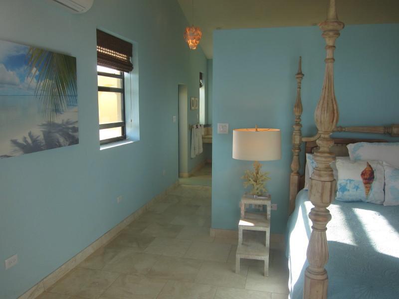 Hallway down to bathroom of upstairs suite