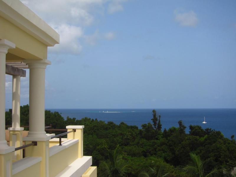 View looking west toward Sandy Island