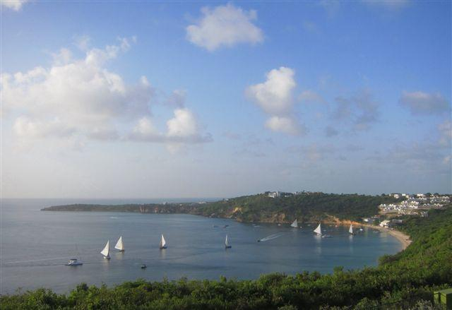 Boat race viewed from Oceana