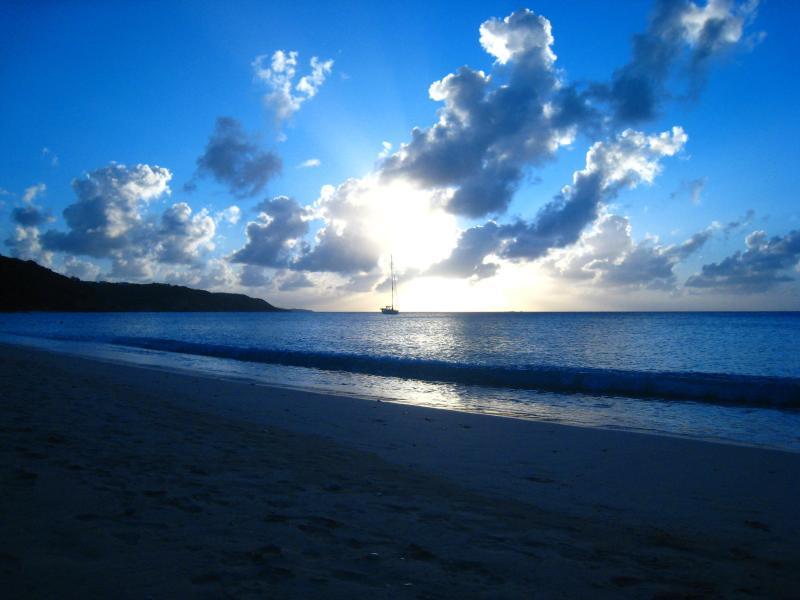 Sunset at Crocus Beach