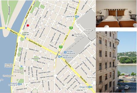 Karte, mit der Wohnung Lage