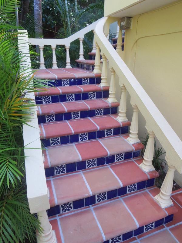 Mexican tiles abound