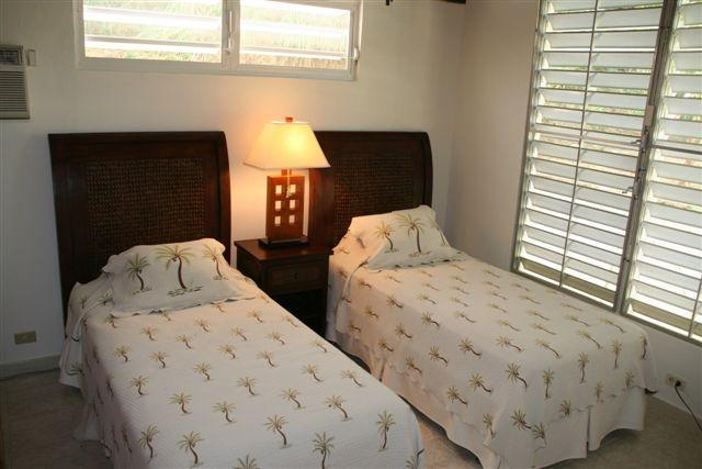 Upstairs second bedroom can also be set up with a king bed